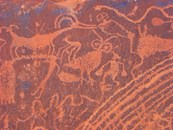 Indian rock art
