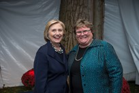 Gail and Hillary